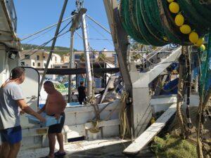 Pescado fresco en el Port d'Andratx